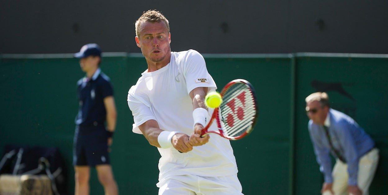 Lleyton Hewitt Andy Roddick Wimbledon 2009