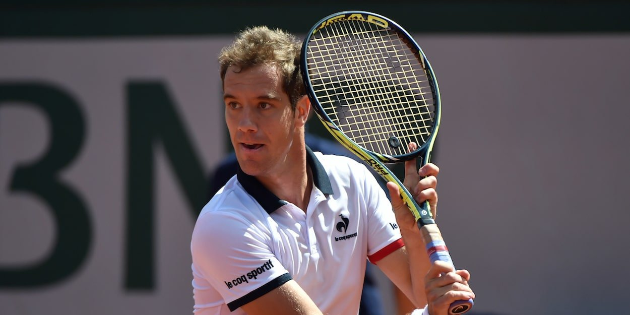 Richard Gasquet backhand ATP Tour former number 7