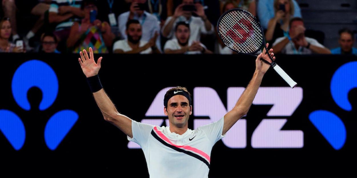 Roger Federer Australian Open 2018