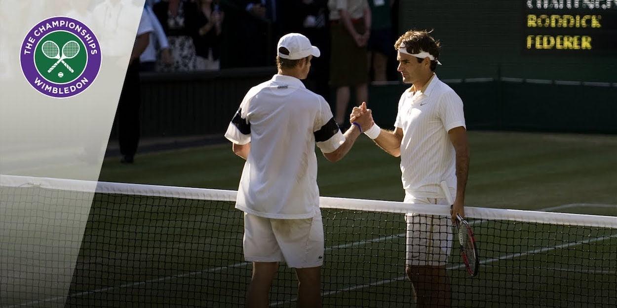 Wimbledon Federer Roddick 2009