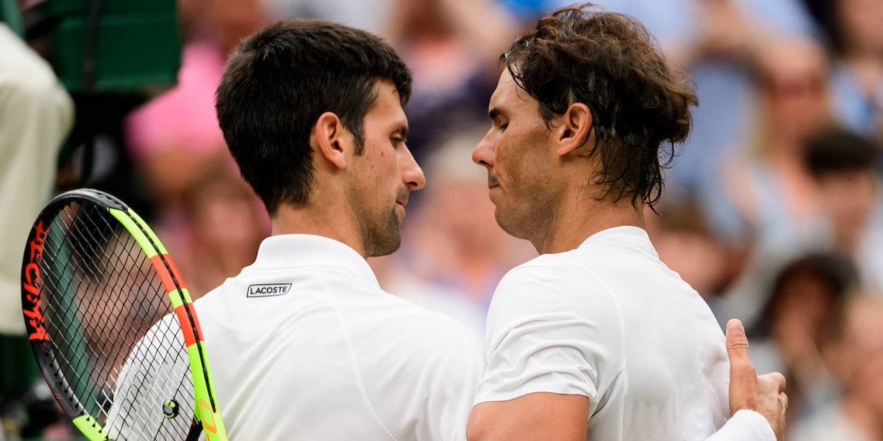 Novak Djokovic Rafa Nadal Wimbledon 2018
