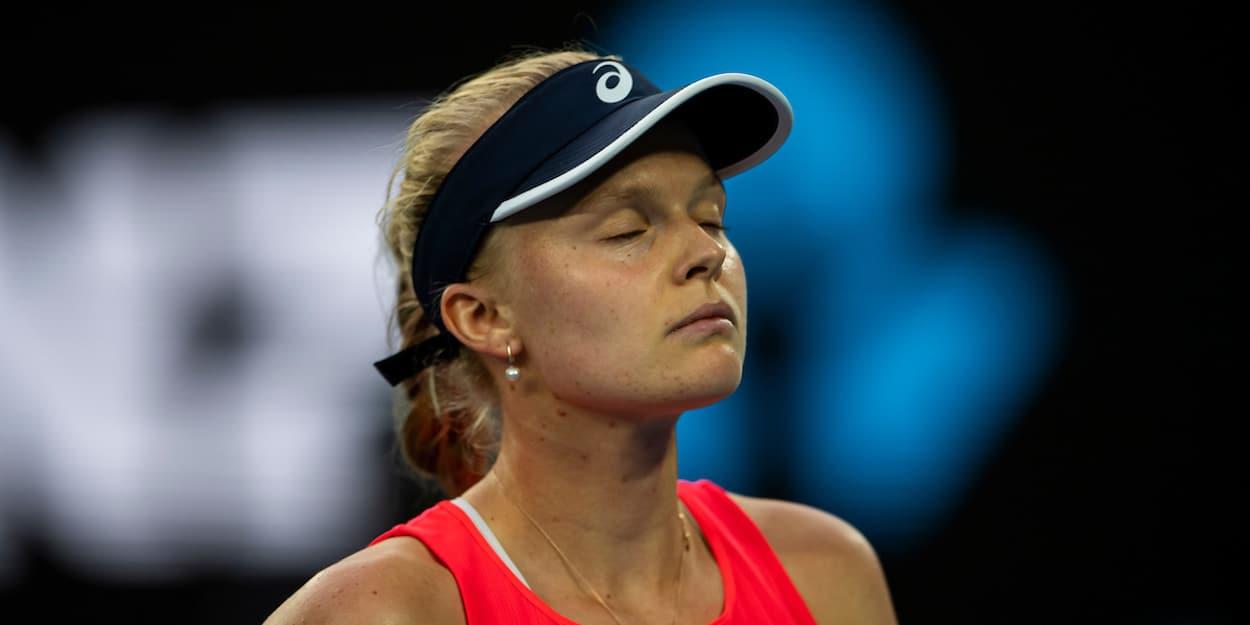 Harriet Dart upset at US Open