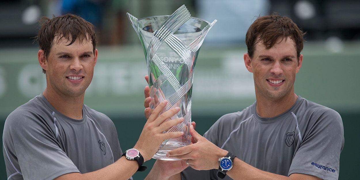 Mike and Bob Bryan - 16 time Grand Slam winners