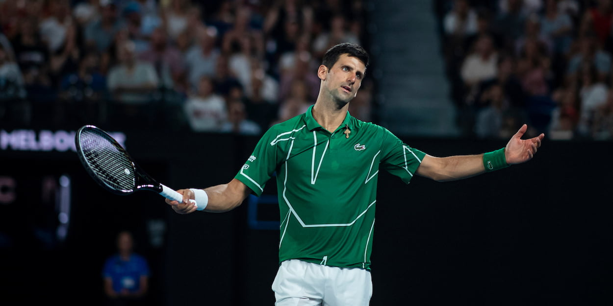 Novak Djokovic concerned Australian Open 2020