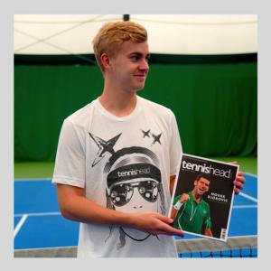 Tennishead t-shirts Face Austin 2
