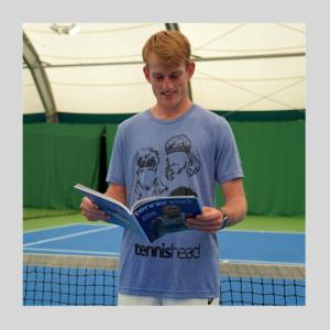 Tennishead t-shirts Face Liam 2