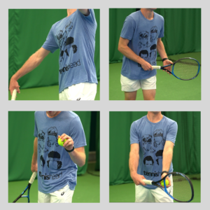Tennishead t-shirts Face Liam action