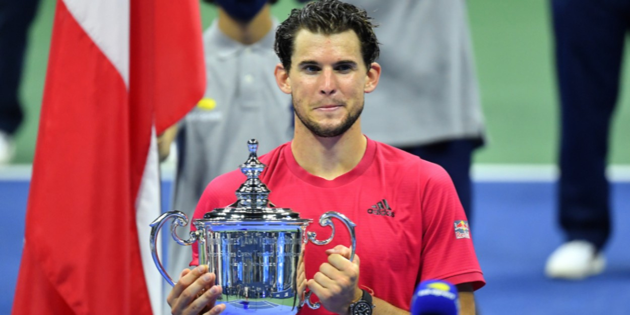 Dominic Thiem trophy