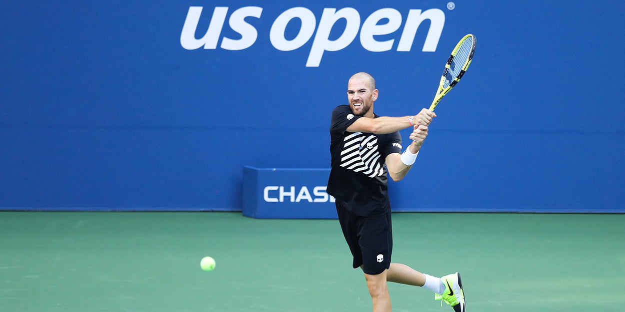 Adrian Mannarino at US Open