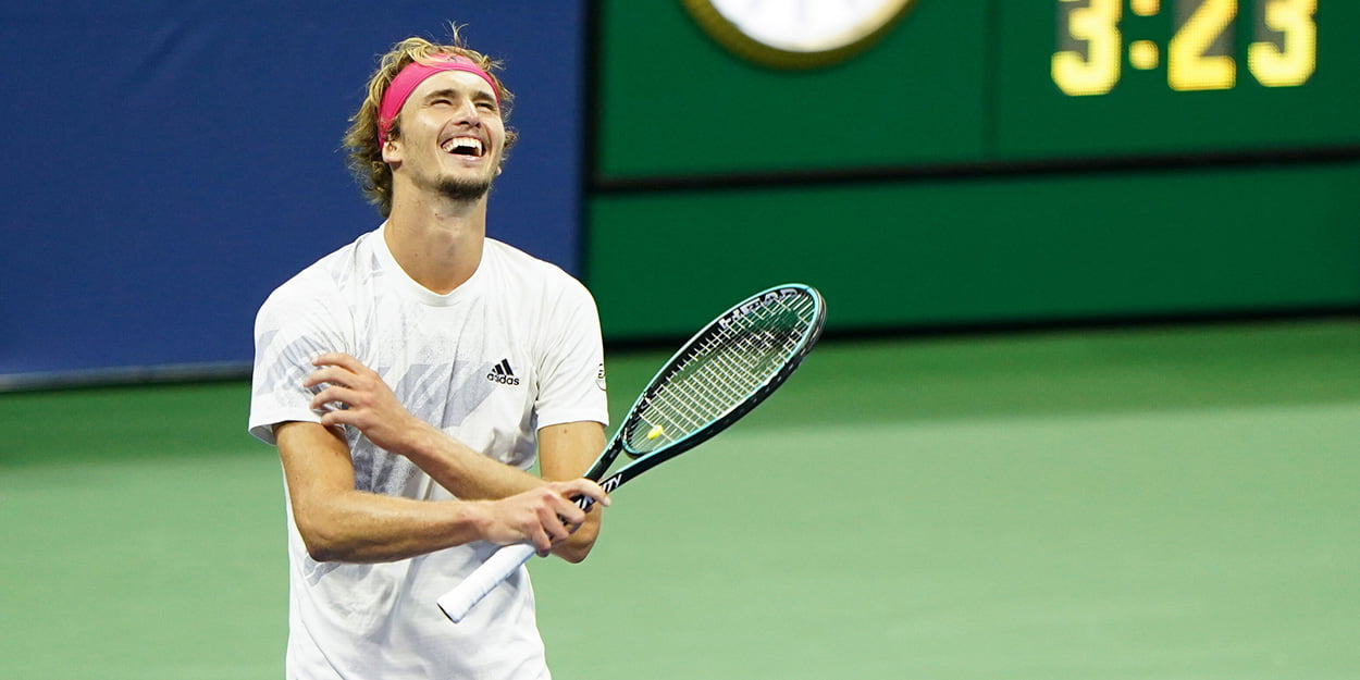 Alexander Zverev - US Open runner-up to Thiem