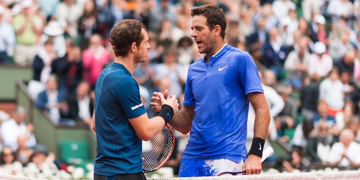 Andy Murray and Juan Martin del Potro