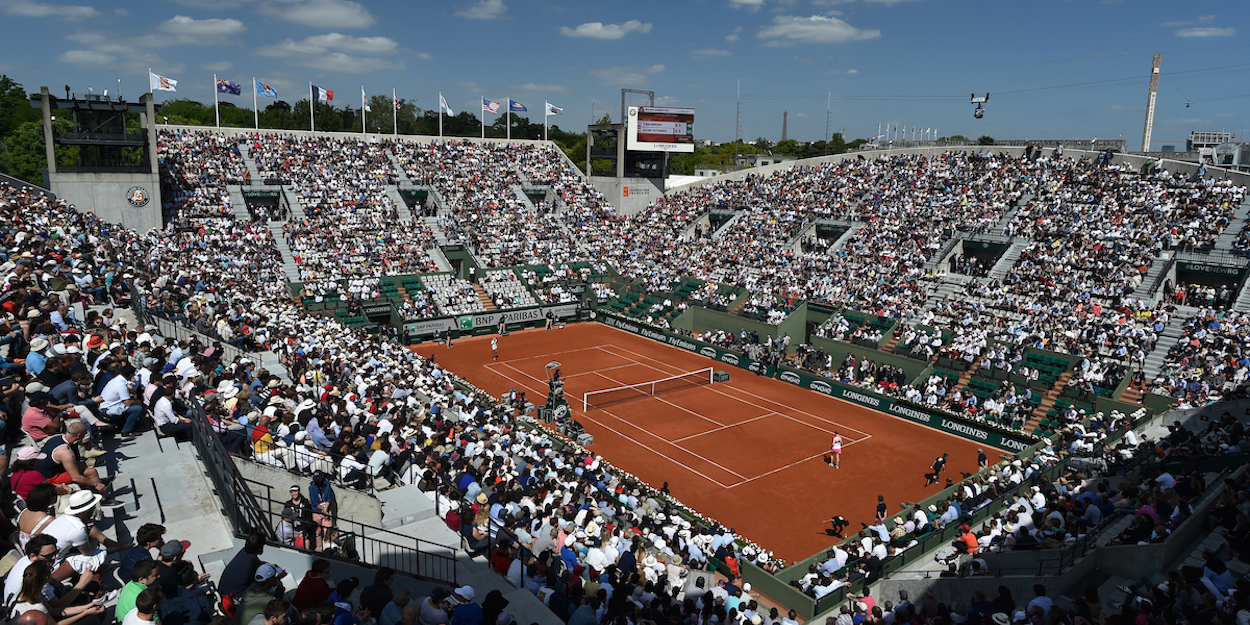 French Open Phillipe Chatrier court
