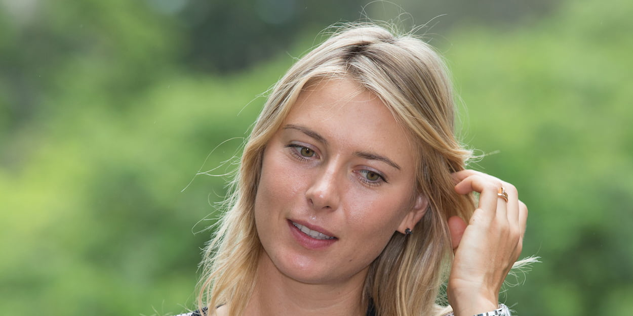 Maria Sharapova off court