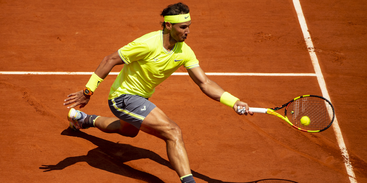 Nadal Clay Forehand 2019