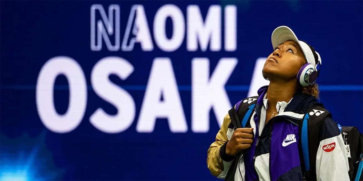Naomi Osaka US Open entrance
