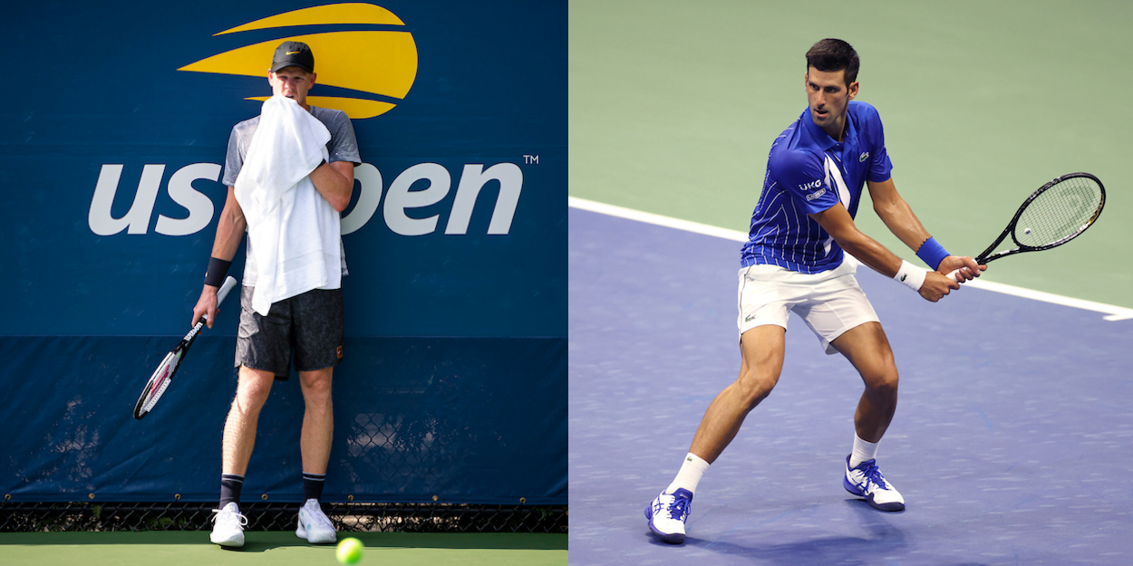 Novak Djokovic v Kyle Edmund US Open 2020 Live Commentary