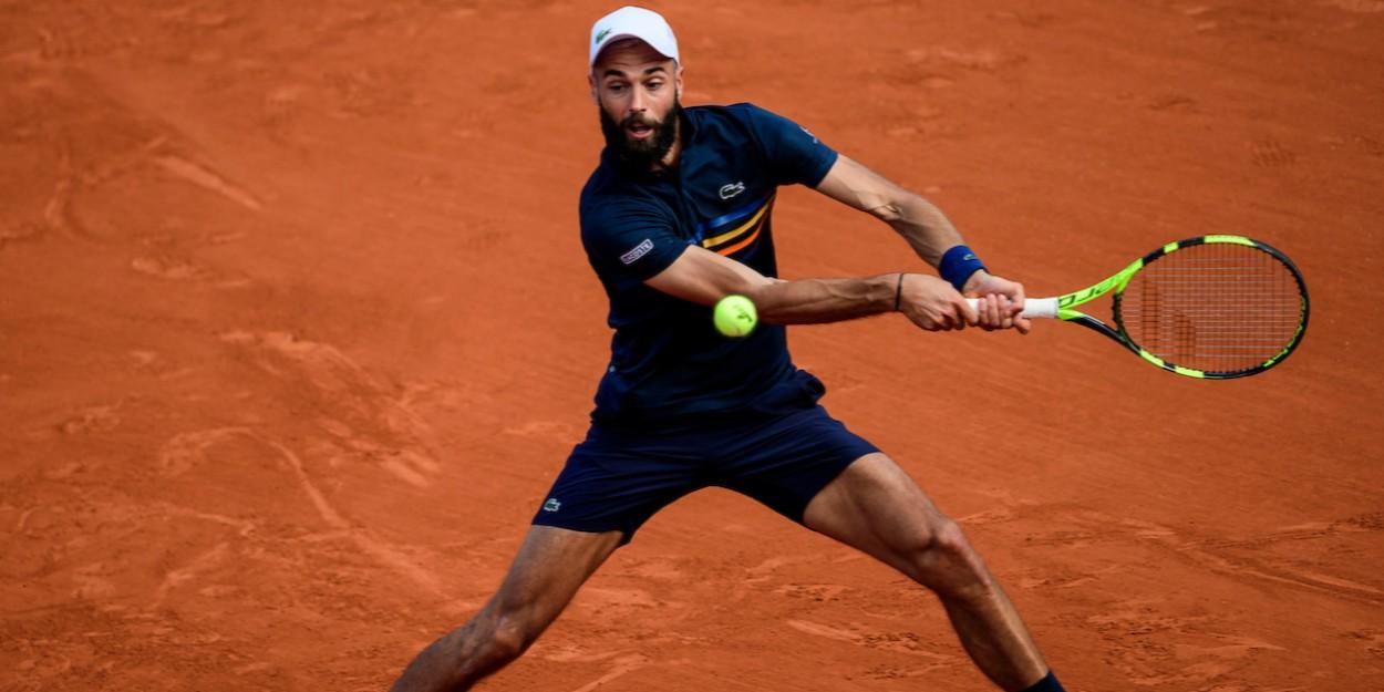 Benoit Paire clay court