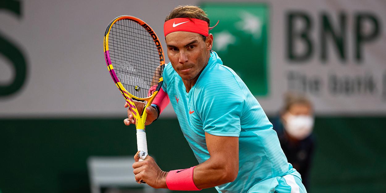 Rafael Nadal at Roland Garros