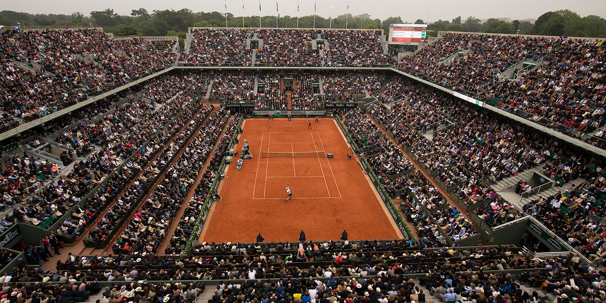 Roland Garros full French Open - traditional fifth set tiebreaker rules