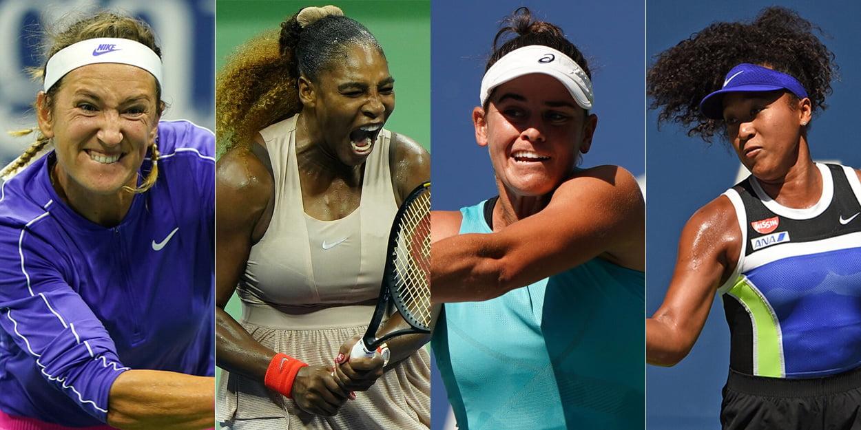 US Open women's semi finals