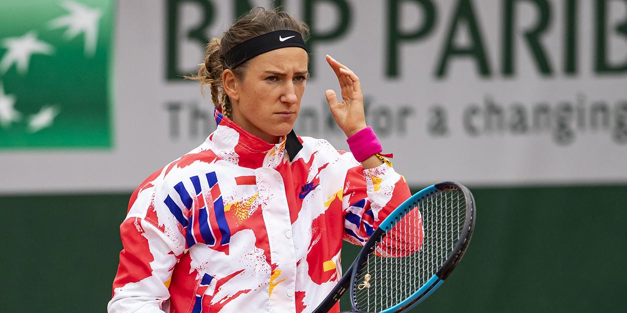 Victoria Azarenka angry at Roland Garros