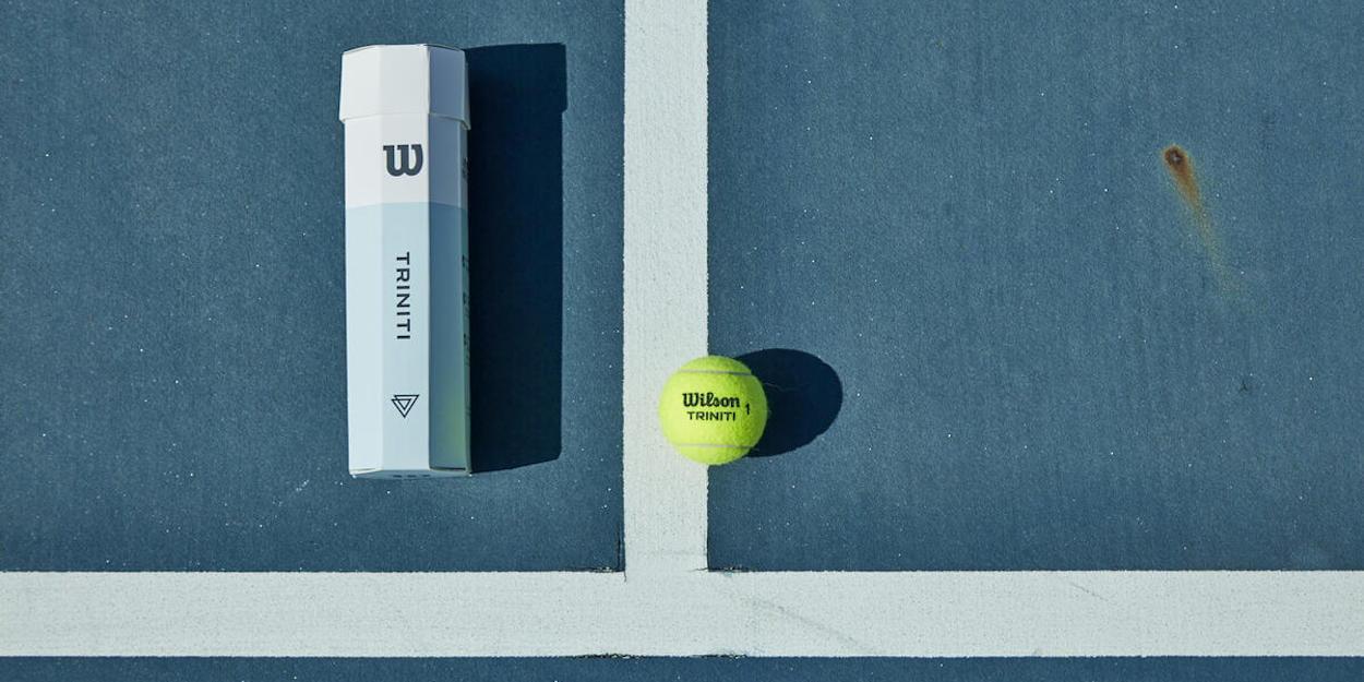 Wilson Triniti tennis balls