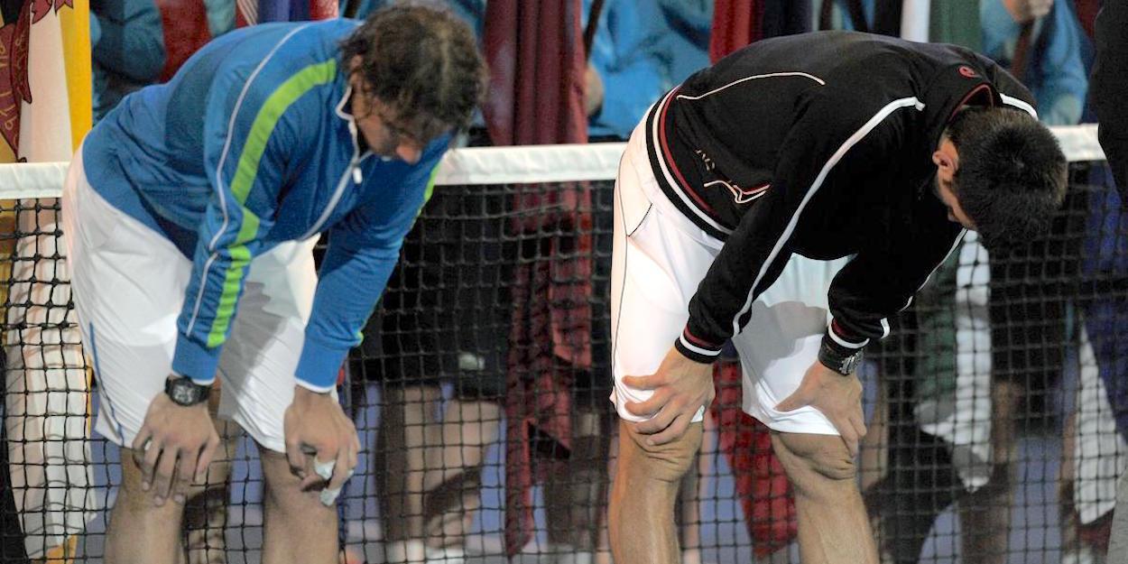 Djokovic beats Nadal Australian Open 2012