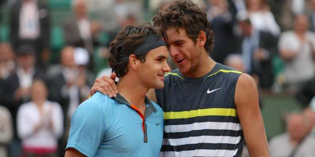 Federer beats Del Potro French Open 2009
