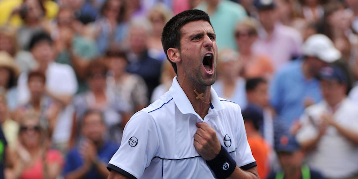 Djokovic beats Federer US Open 2011
