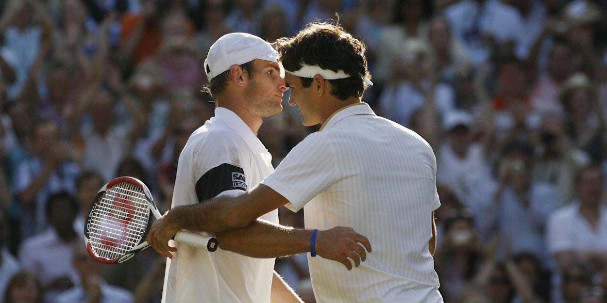 Federer beats Roddick Wimbledon 2009