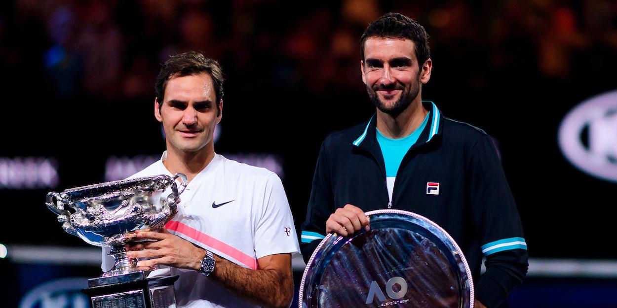 Federer beats Cilic Australian Open 2018