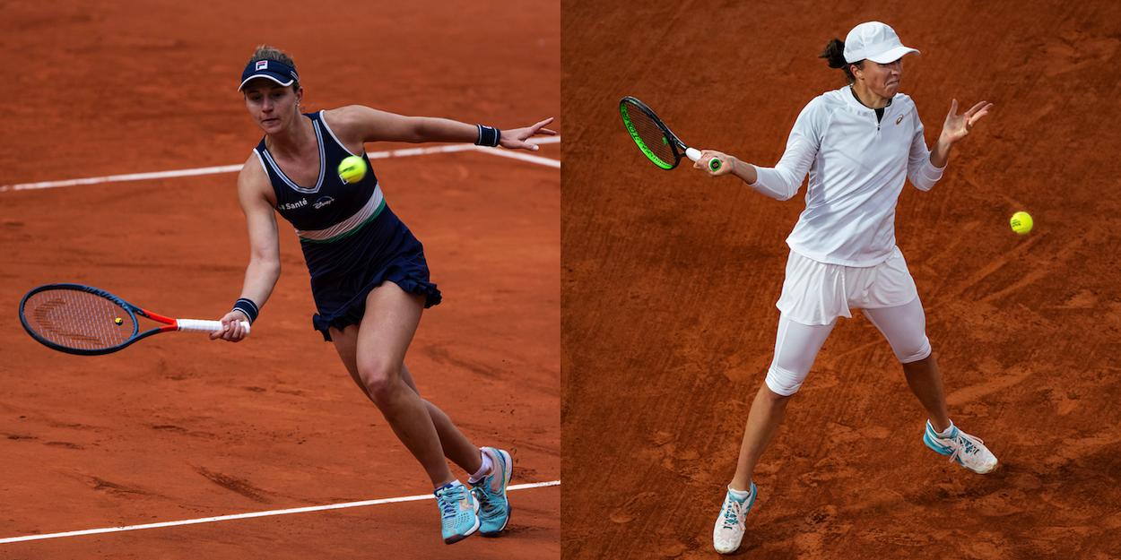 French Open semi final Podoroska Swiatek