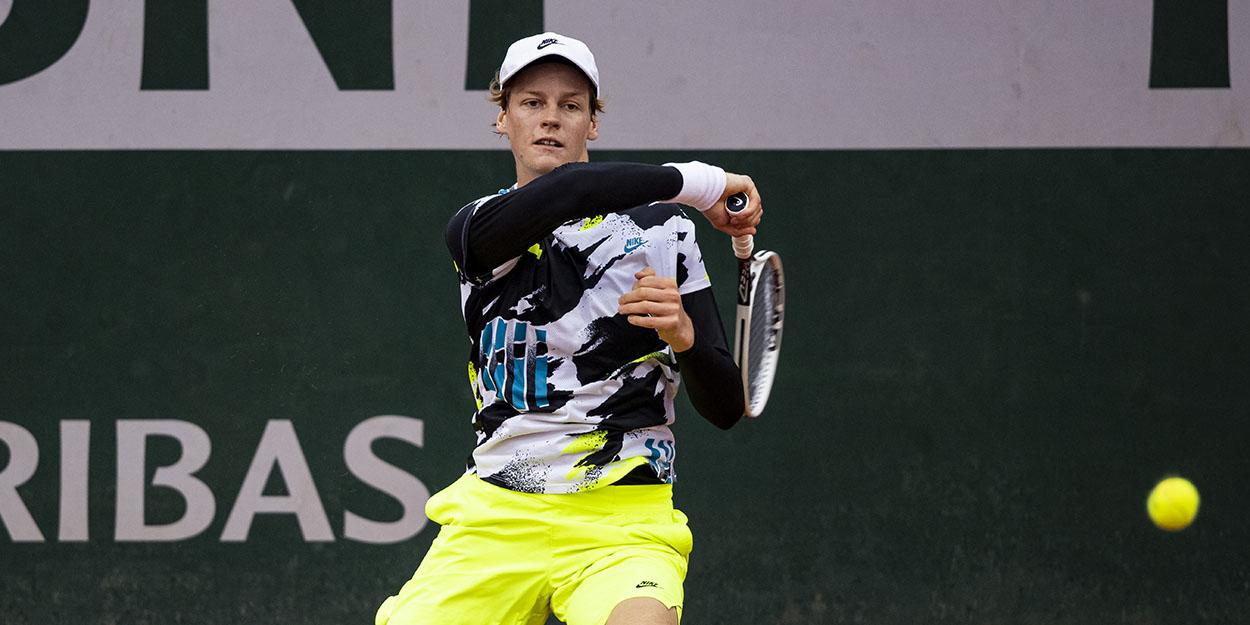 Jannik Sinner - tipped for top by Novak Djokovic and Toni Nadal