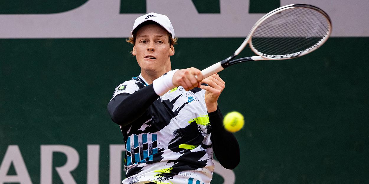 Jannik Sinner - impressing Rafa Nadal