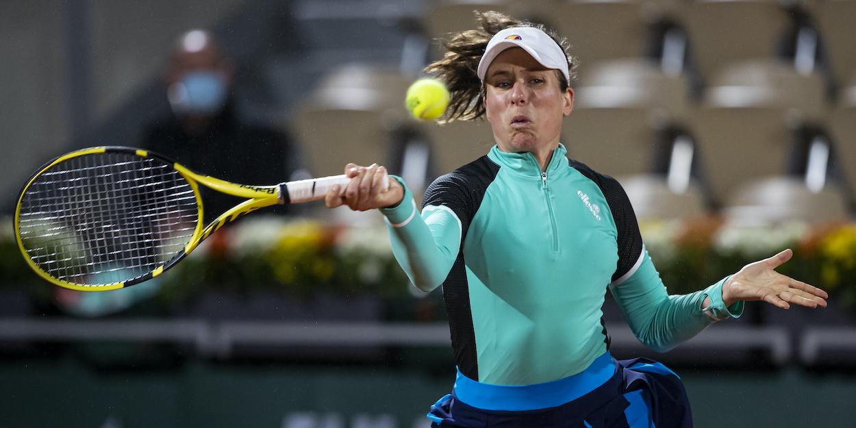 Johanna Konta Roland Garros 2020
