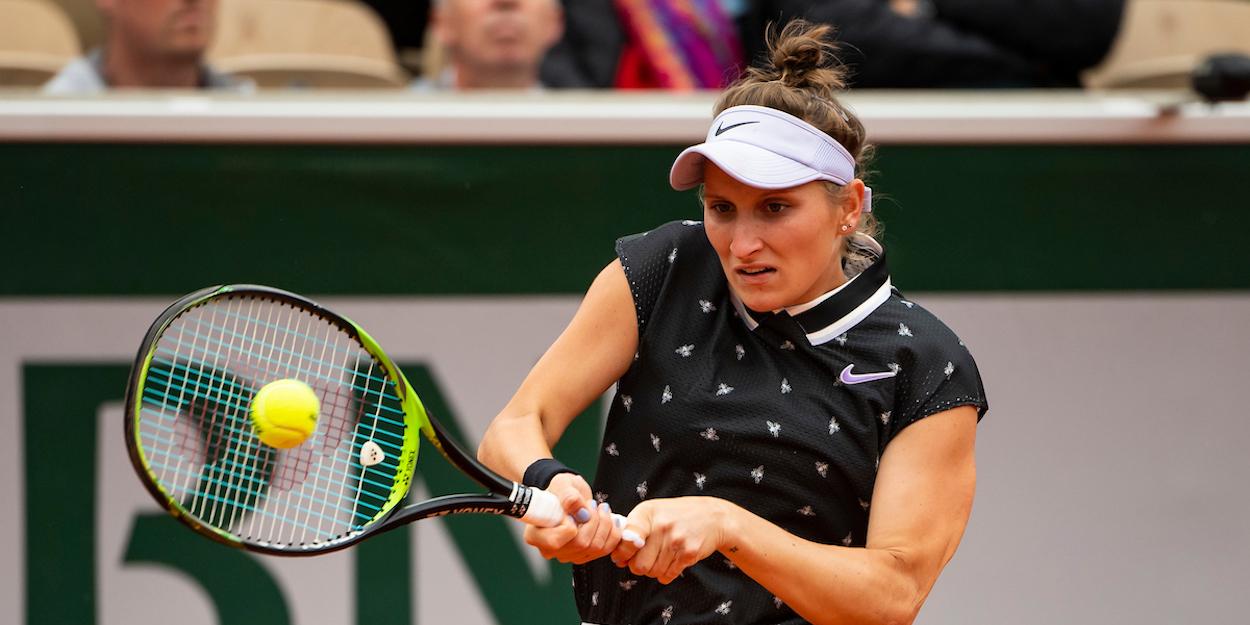 Marketa Vondrousova French Open 2019