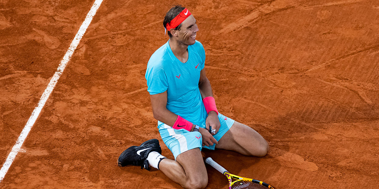 Rafa Nadal celebrates French Open title Rafael