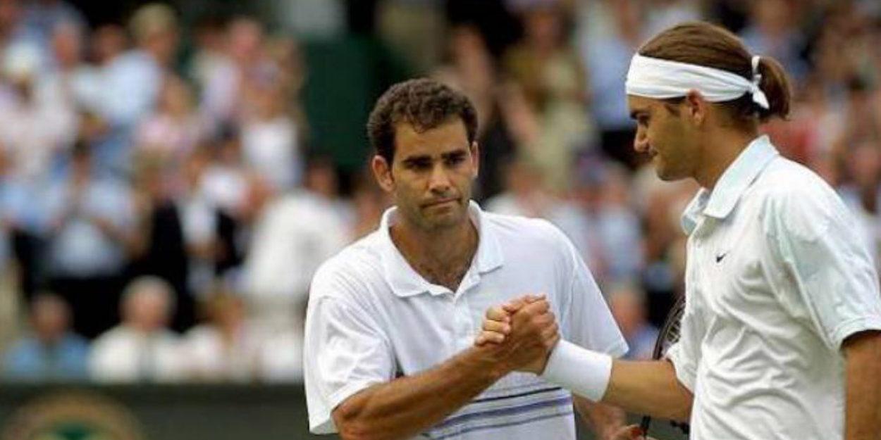 Roger Federer beats Pete Sampras Wimbledon 2001
