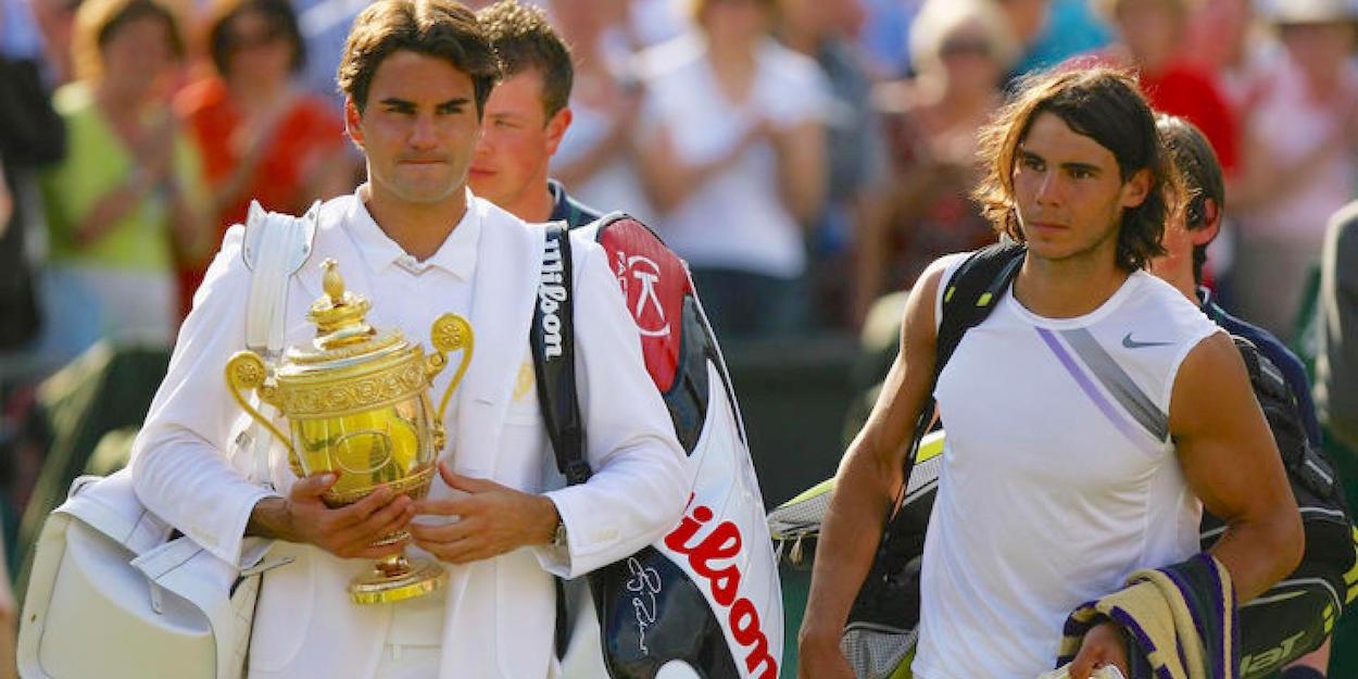 Federer beats Nadal Wimbledon final 2007