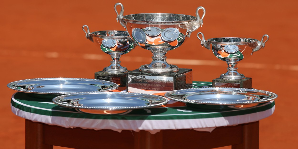 Roland Garros Women's Singles Trophies