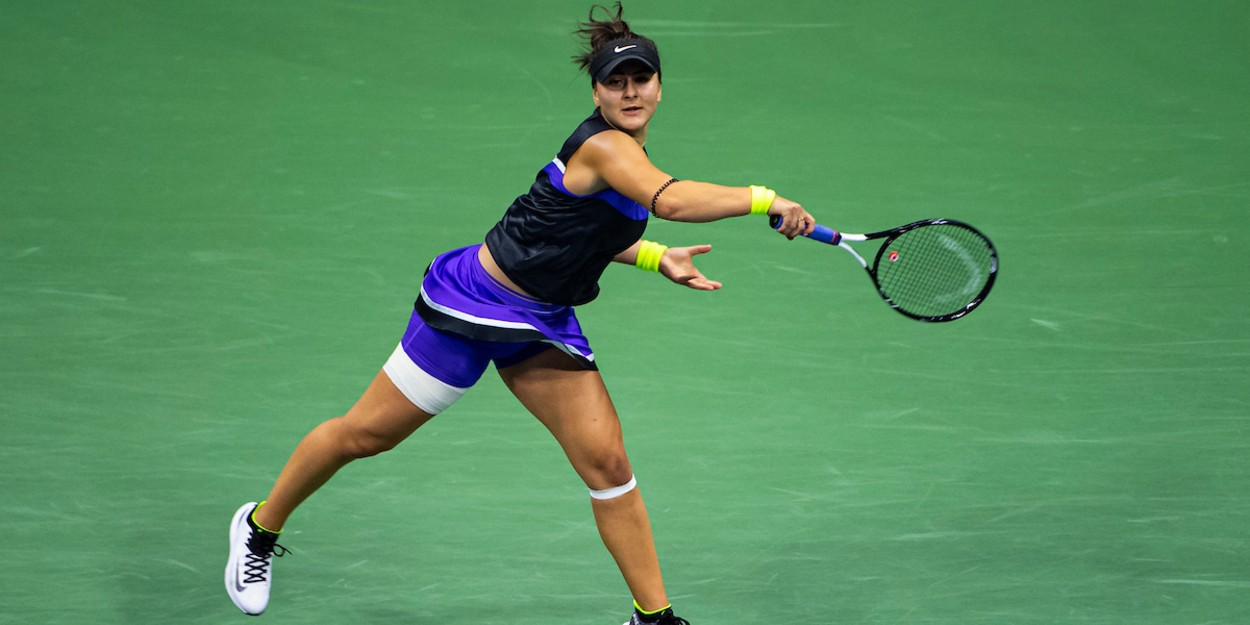 Andreescu at the 2019 US Open