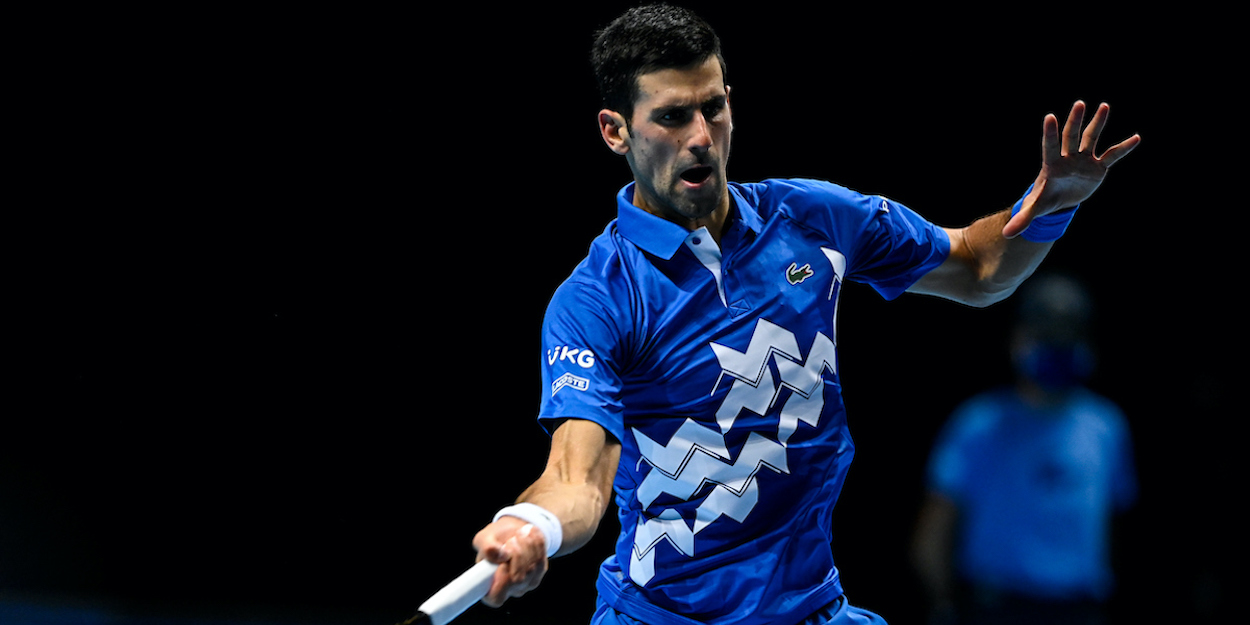 Djokovic ATP Finals 2020