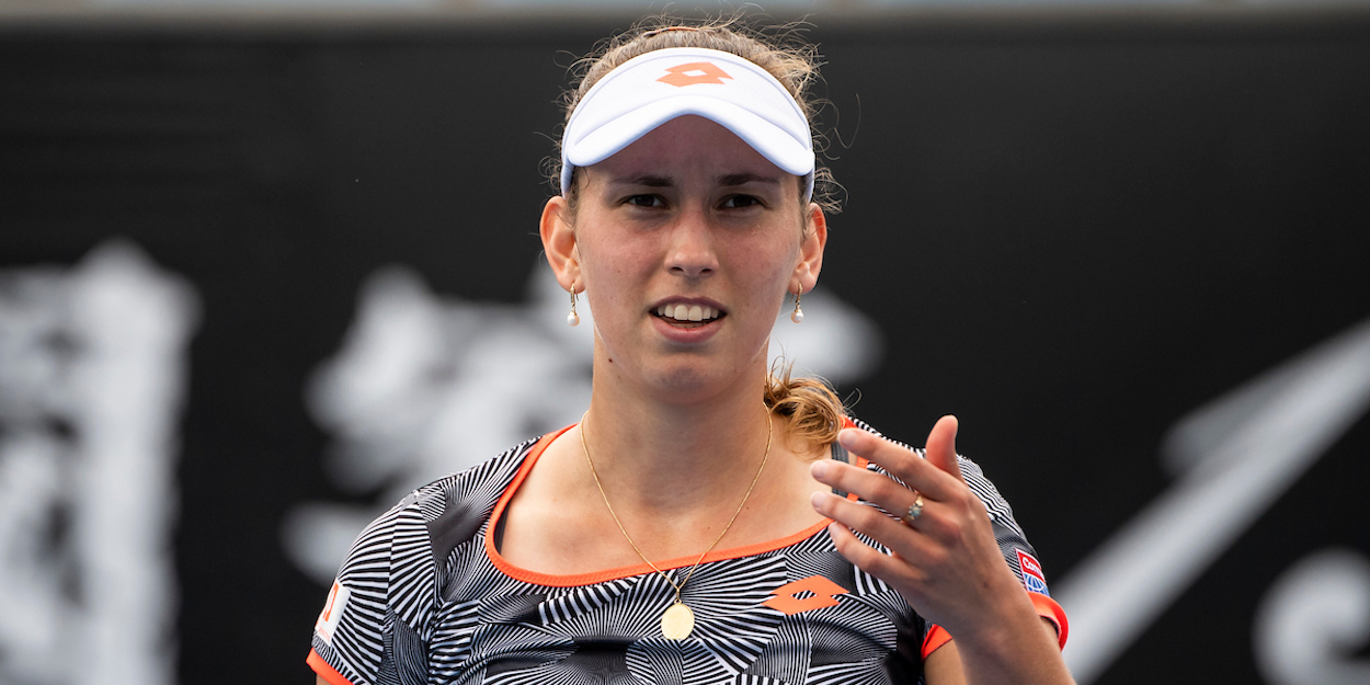 Elise Mertens at Australian Open 2020