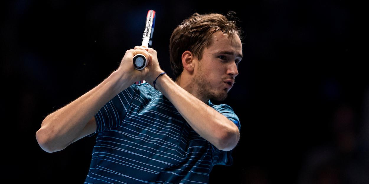 Medvedev ATP Finals 2019