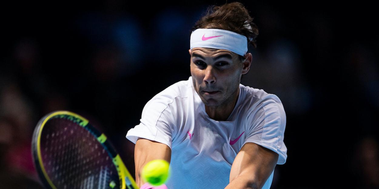 Nadal ATP Finals 2019