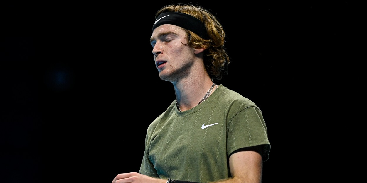 Andrey Rublev disappointed ATP finals 2020