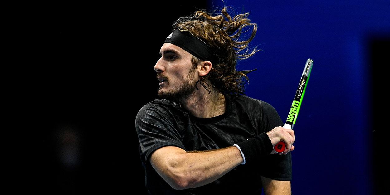 Stefanos Tsitsipas ATP Finals 2020