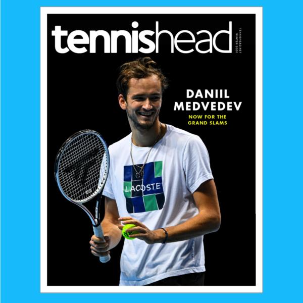 Tennishead magazine December 2020