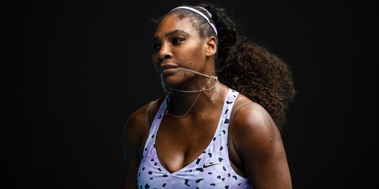 Serena Williams at Australian Open 2020