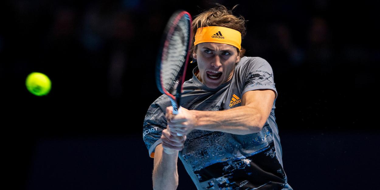 Zverev ATP Finals 2019